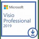 Неисключительное право на использование программы для ЭВМ Microsoft Visio Professional 2019 Лицензия ESD