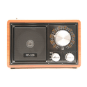Радиоприемник Сигнал БЗРП РП-329 коричневыйчерный USB microSD