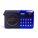Радиоприемник Сигнал РП-222 синийчерный USB microSD