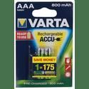Аккумулятор VARTA 800 mAh AAA 2 штуп
