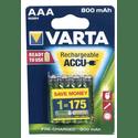 Аккумулятор VARTA 800 mAh AAA 4 штуп