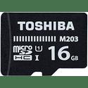 Карта памяти Toshiba 16ГБ microSD HC UHS-I Class 10 U1 M203 THN-M203K0160EA