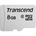 Карта памяти Transcend 8ГБ microSD HC Class10 TS8GUSD300S