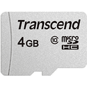 Карта памяти Transcend 4ГБ microSD HC Class10 TS4GUSD300S