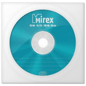 Диск Mirex CD-RW 700МБ 12х UL121002A8C Бумажный конверт 1штуп