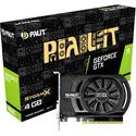 Видеокарта Palit 4096МБ GeForce GTX 1650 StormX NE51650006G1-1170F