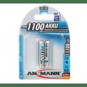 Аккумулятор ANSMANN AAA 1100 mAh уп 2 шт