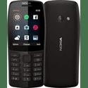 Сотовый телефон Nokia 210 Black