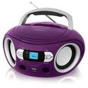 Магнитола BBK BS15BT фиолетовый