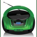 Магнитола Hyundai H-PCD360 черныйзеленый