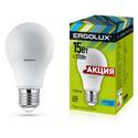 Лампа ERGOLUX 15Вт Е27 А60 4500K 230В груша