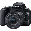 Зеркальный фотоаппарат Canon EOS 250D Black EF-S 18-55mm f4-56 IS STM