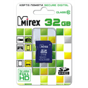 Карта памяти Mirex 32ГБ SecureDigital HC Class 10 13611-SD10CD32