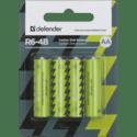 Элемент питания Defender R6-4B AA в блистере 4 шт 56112