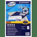 Бумага Europe100 ELA013-18 A4 70x423мм 21шт на листе70гм218лбелый матовое универсальная