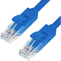 Патч-корд Greenconnect RJ45 UTP кат5e 015m синий GCR-LNC01-015m
