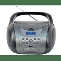 Магнитола Telefunken TF-CSRP3499B серыйчерный