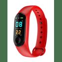 Фитнес-браслет Smarterra FitMaster Color черныйкрасный