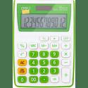 Калькулятор Deli E1122GRN зеленый 12-разр