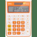 Калькулятор Deli E1238OR оранжевый 12-разр