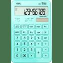 Калькулятор Deli Touch EM01531 голубой 12-разр