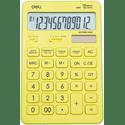 Калькулятор Deli Touch EM01551 желтый 12-разр
