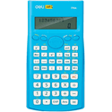Калькулятор Deli E1710ABLU синий 102-разр