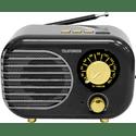 Радиоприемник Telefunken TF-1682UB черныйзолотистый
