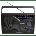 Радиоприемник Supra ST-16 черный