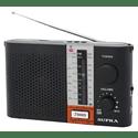 Радиоприемник Supra ST-17U черный