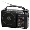 Радиоприемник Supra ST-18U черный