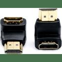 Переходник Atcom HDMI m  HDMI f угловой AT3804