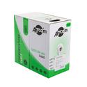 Кабель Atcom UTP 5e кат 4 пары однож 24AWG медь 305м серый AT3800