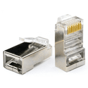 Коннектор Atcom RJ45 FTP 8P8C 100 шт AT10698
