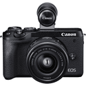 Фотоаппарат Canon EOS M6 Mark II Black kit EF-M 15-45mm f35-63 IS STM