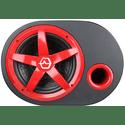 Сабвуфер автомобильный Урал AS-D12A Red Hurricane