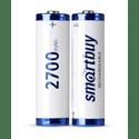 Аккумулятор SmartBuy AA 2700 mAh уп 2 шт