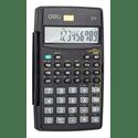 Калькулятор Deli E1711 черный