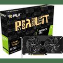 Видеокарта Palit 6144МБ GeForce GTX 1660 Dual OC NE51660S18J9-1161C
