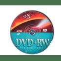 Диск VS DVDRW 47ГБ 4x VSDVDPRWCB1001