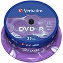 Диск Verbatim DVDR 47ГБ 16x Azo 43500