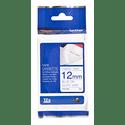 Картридж Brother Картридж с лентой 12 мм синий на белом TZFA3 ткань 3 метра
